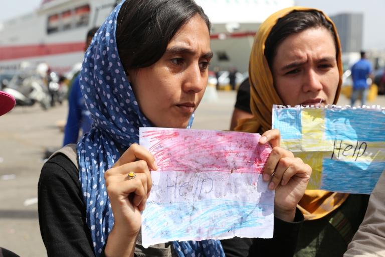 Afghani refugees-1